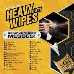 HFL'S Heavy Duty Wipes Wipes  (White)