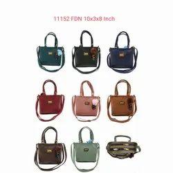 Aakaar Handbags Women's Sling Bag With Barfi Embose In Front, 450g, Size: 25*8*20 Cm