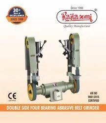 Double Sided Abrasive Belt Grinder