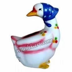White Duckling Dustbin
