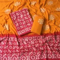 Women Dress Material Batik Salwar Suit
