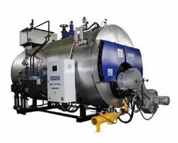 Oil & Gas Fired 500 kg/hr Packaged Steam Boiler, IBR Approved