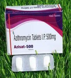 Azisat 500 mg Azithromycin Tablets