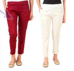 Upto 12 colours Cotton Pant, Waist Size: M to XXL sizes