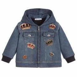 Denim Girl Jacket, Full Sleeves
