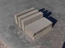 Grey Cellular Lightweight Concrete Brick, Size: 100x240x650 mm