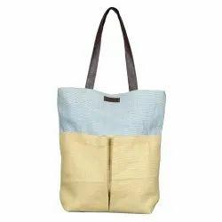 Modern Long Shoulder Length EB 55620 Jute Ladies Bag, Capacity: 8 kg