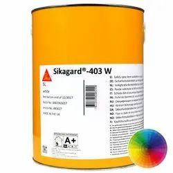Waterborne, Modified Acrylic Resin Wall Coating Sikagard 403 W