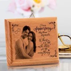 Wooden Photo Frame Customized  Anniversary Gift
