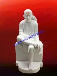 Marble Sai Baba ji Statue