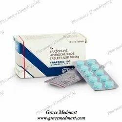 Trazonil 100mg Tablet