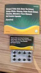 Omega-3 Fatty Acid ,Green Tea Extract,Ginkgo Biloba Ginseng,