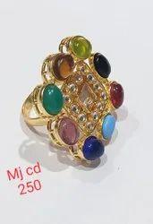 Navratna Stone Rings