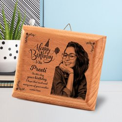Customized Wooden Photo Frame For Birthday Gifts