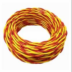 Pasaka 0.5 sqmm Flexible Twin Twisted Wire, 90 m, Packaging Type: Roll