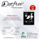 Dotfree 240mm Anion Ultra Napkins