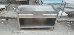 Stainless Steel Tea Counter