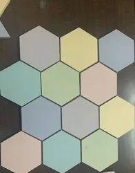 Vitrified Mosaic Bathroom Floor Tiles