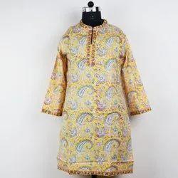 Indigo Cotton Kurti