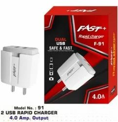 Ampere: 4 Amp Fast+ F-91 USB Rapid Charger