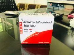 Meloxicam & Paracetamol Bolus (Vet.)