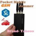 Portable Mobile Phone Jammer And GPS Jammer 3 Antenna