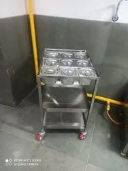 Stainless Steel Masala Table