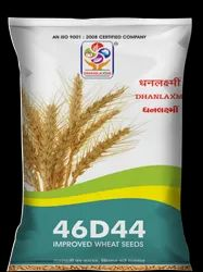 Dhanlaxmi Improved Wheat 46D44 Seeds, 3%, Packaging Size: 20kg