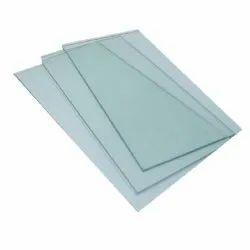 7mm Partition Plain Glass, Shape: Flat