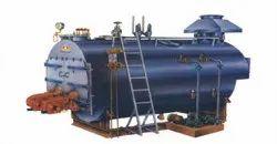 Oil & Gas Fired 8000 Kg/hr Fully Wetback Steam Boiler IBR Approved