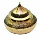 Brass Kumkum Dibbi For Corporate Gift