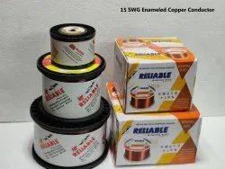 15 SWG Enameled Copper Conductor