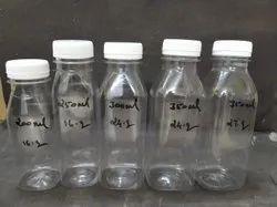 200ml to 350ml Screw Cap Pet Bottles, Use For Storage: Juice