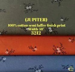 Jupiter 100% Cotton Semi Laffer Finish Shirting Fabric
