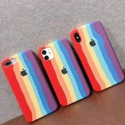 Silicone Mix Rainbow Mobile Covers