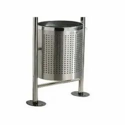 Stainless Steel Airport Dustbin