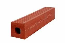 One Hole Exposed Perforated Extruded Clay Bricks