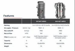 Delfin 802 Wet Airex Compressed Air Vacuum Cleaner For Liquid