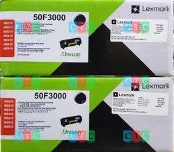 Black Lexmark 50F3000 Toner Cartridge