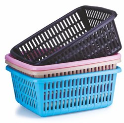 Plastic Rectangular Basket
