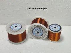 24 SWG Enameled Copper Winding Wire