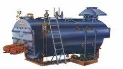 Oil & Gas Fired 9000 Kg/hr Fully Wetback Steam Boiler IBR Approved