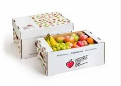Printed Corrugated Fruit Packaging Box