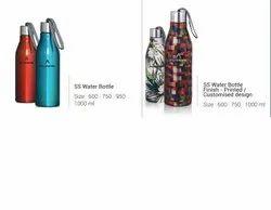 Stainless Steel Printed Water Bottle