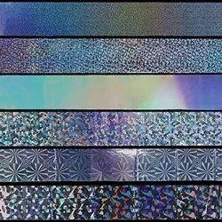 Acrylic Holographic Strip