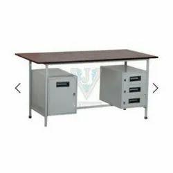 Steel Table & Almirah