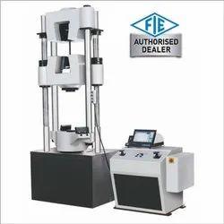 Servo Controlled Hydraulic Grip Front Loading Universal Testing Machine
