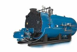 500-1000 kg/hr Automatic Fire Tube Boiler IBR Approved