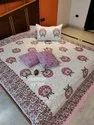 Double Bed Sheet  With Cushion Covers