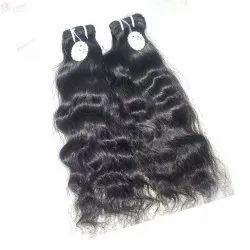 Indian Human Hair Extensions Raw Wavy Hair